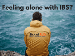 Feeling alone with IBS