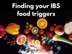 finding your IBS trigger foods