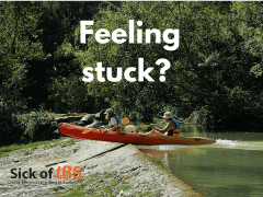 feeling stuck - recover from IBS