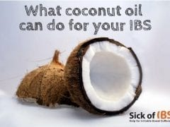 coconut oil and your IBS