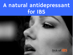 Depression and IBS: a natural anitdepressant for IBS