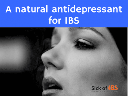 natural anitdepressant for IBS
