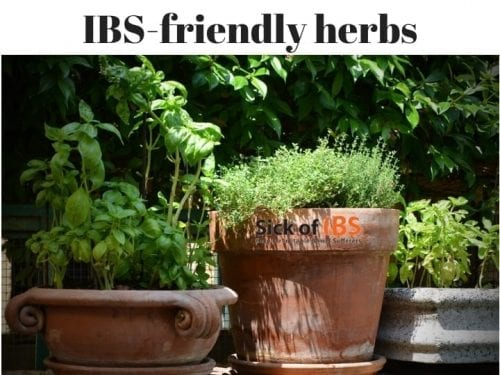 At home with IBS friendly herbs