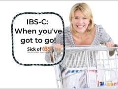 When you've got to go with IBS-C