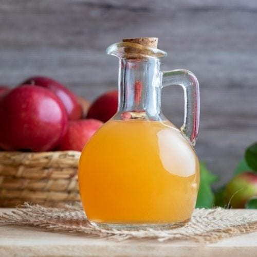 IBS and digestion: apple cider dressing