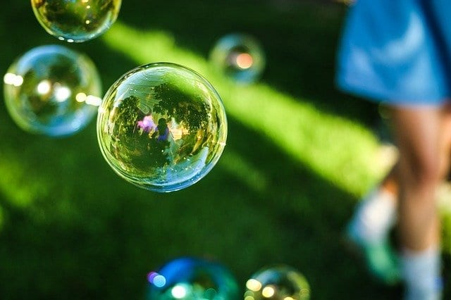 take your mind off your IBS with bubbles