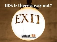 A way out of IBS
