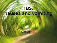 IBS vomiting and nausea